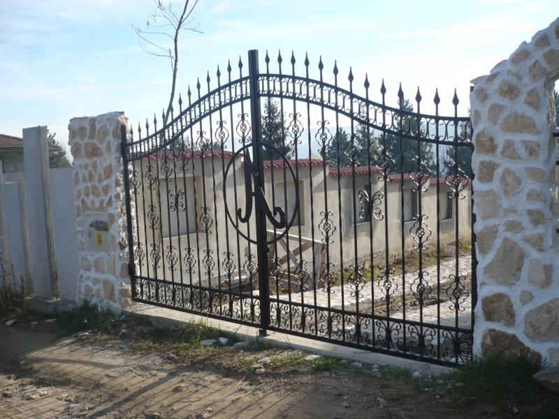 poarta si gard din otel 2
