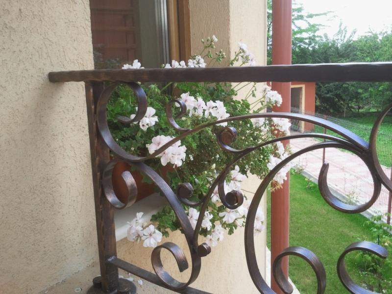 Balustrada otel vopsit antichizat 4